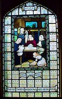 Cramond Kirk Windows