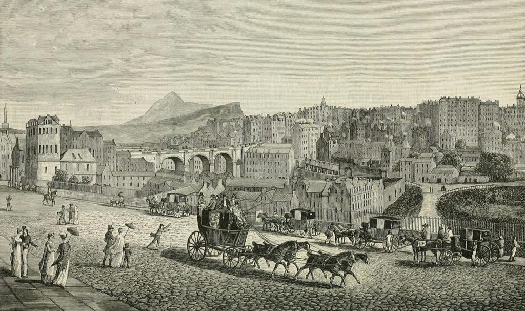 Edinburgh in the late 1800s